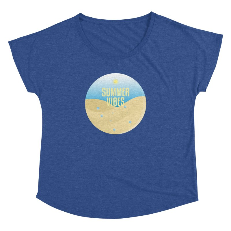 Summer Vibes Women's Dolman Scoop Neck by Mountain View Co