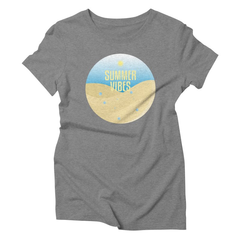 Summer Vibes Women's Triblend T-Shirt by Mountain View Co