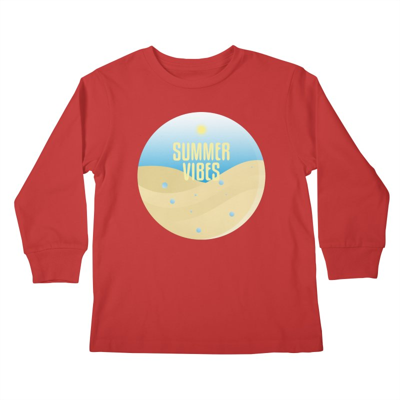 Summer Vibes Kids Longsleeve T-Shirt by Mountain View Co