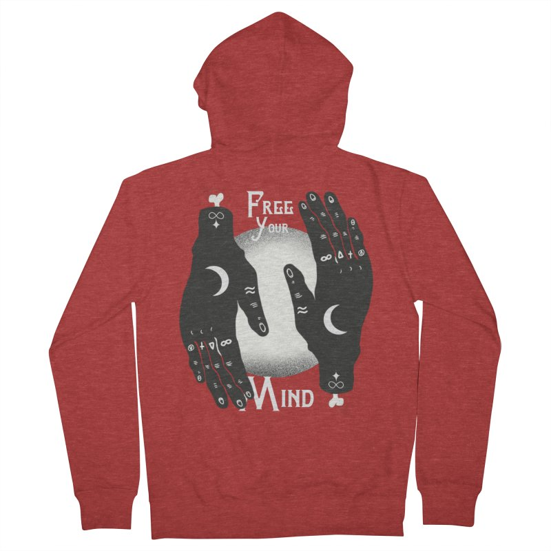 Free Your Mind Men's French Terry Zip-Up Hoody by Mountain View Co