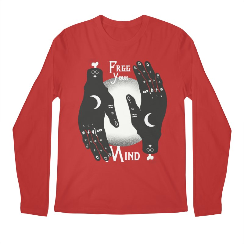 Free Your Mind Men's Regular Longsleeve T-Shirt by Mountain View Co