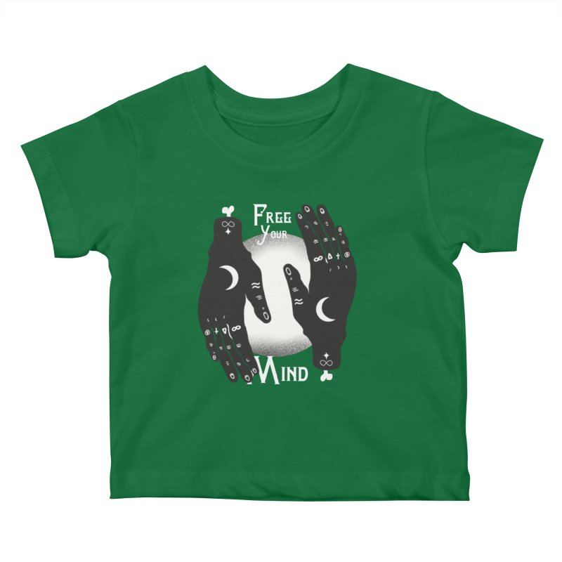 Free Your Mind Kids Baby T-Shirt by Mountain View Co