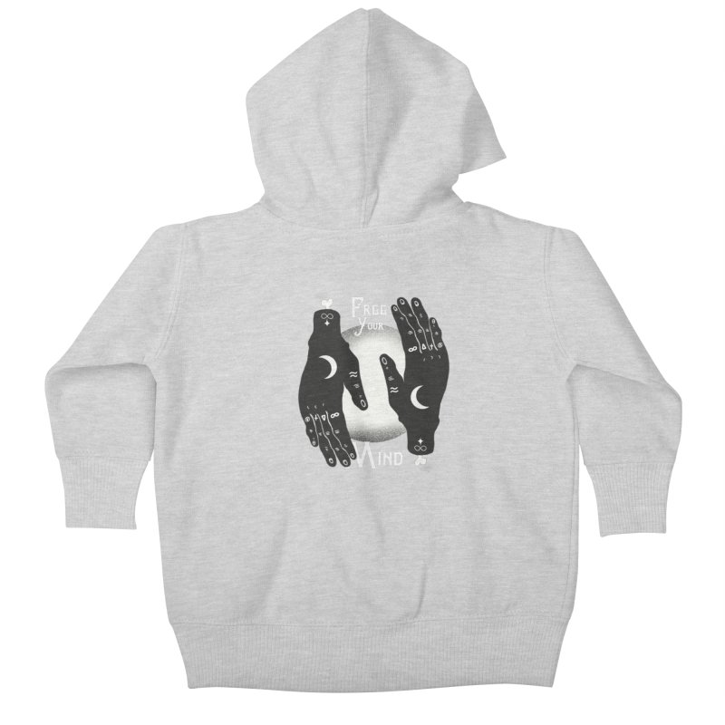 Free Your Mind Kids Baby Zip-Up Hoody by Mountain View Co