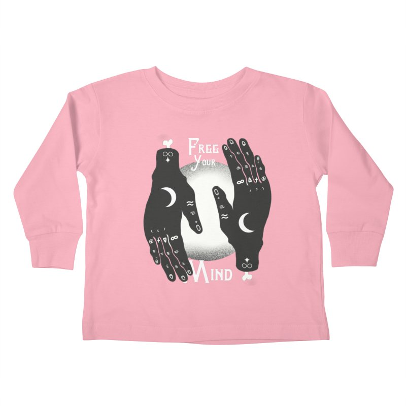 Free Your Mind Kids Toddler Longsleeve T-Shirt by Mountain View Co