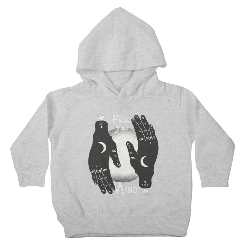Free Your Mind Kids Toddler Pullover Hoody by Mountain View Co