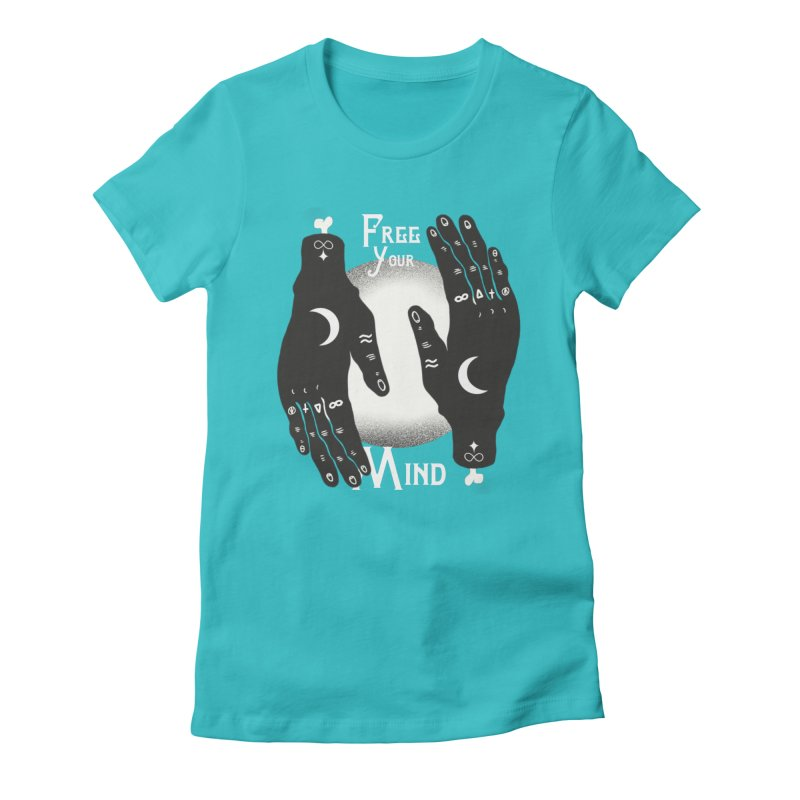 Free Your Mind Women's Fitted T-Shirt by Mountain View Co