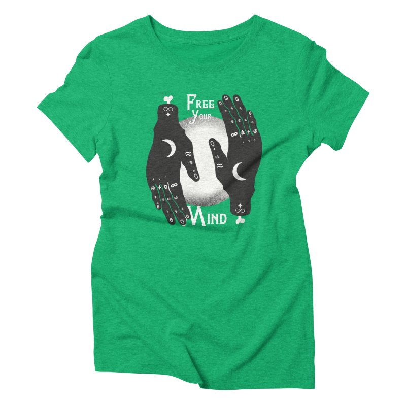 Free Your Mind Women's Triblend T-Shirt by Mountain View Co