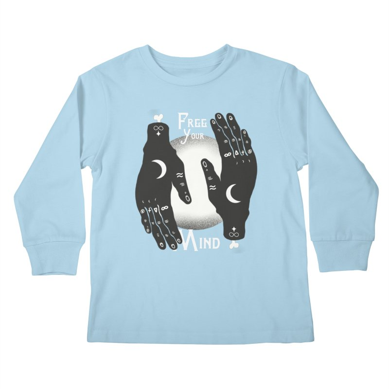 Free Your Mind Kids Longsleeve T-Shirt by Mountain View Co
