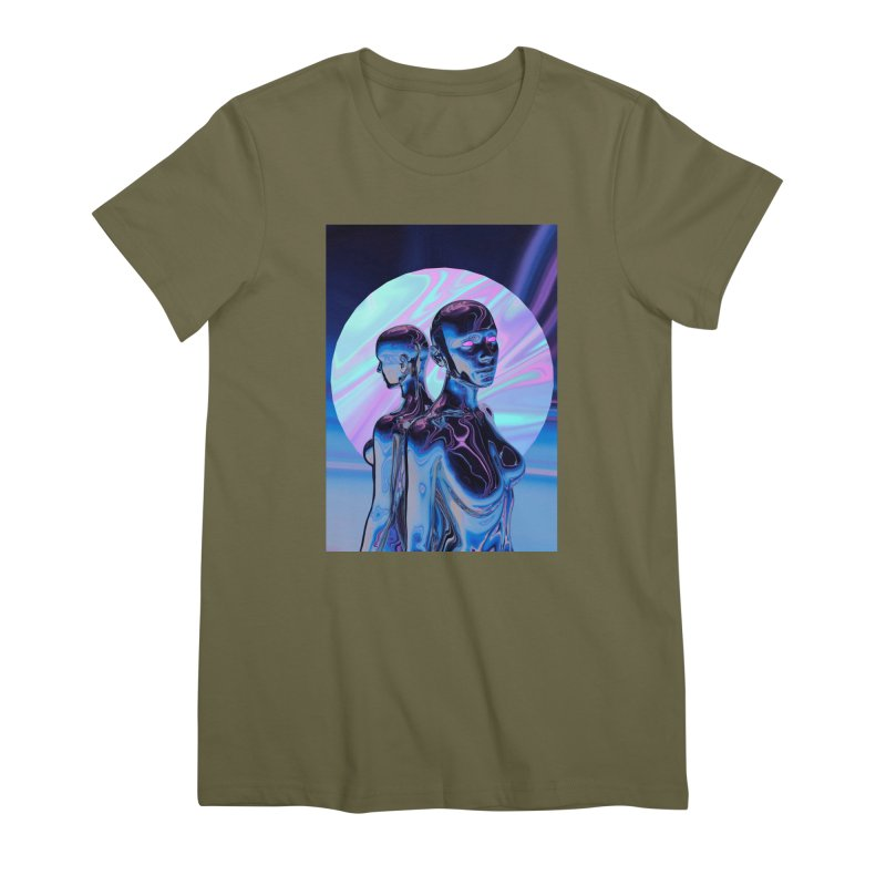 ANGELS 9/8/18 Women's Premium T-Shirt by Mountain View Co