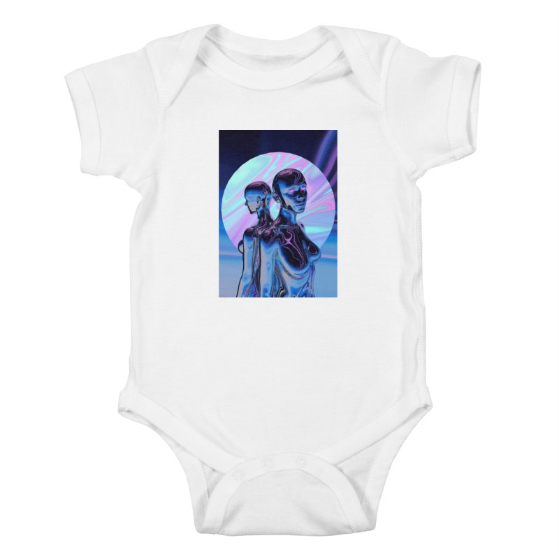 ANGELS 9/8/18 Kids Baby Bodysuit by Mountain View Co
