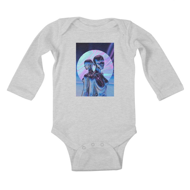 ANGELS 9/8/18 Kids Baby Longsleeve Bodysuit by Mountain View Co