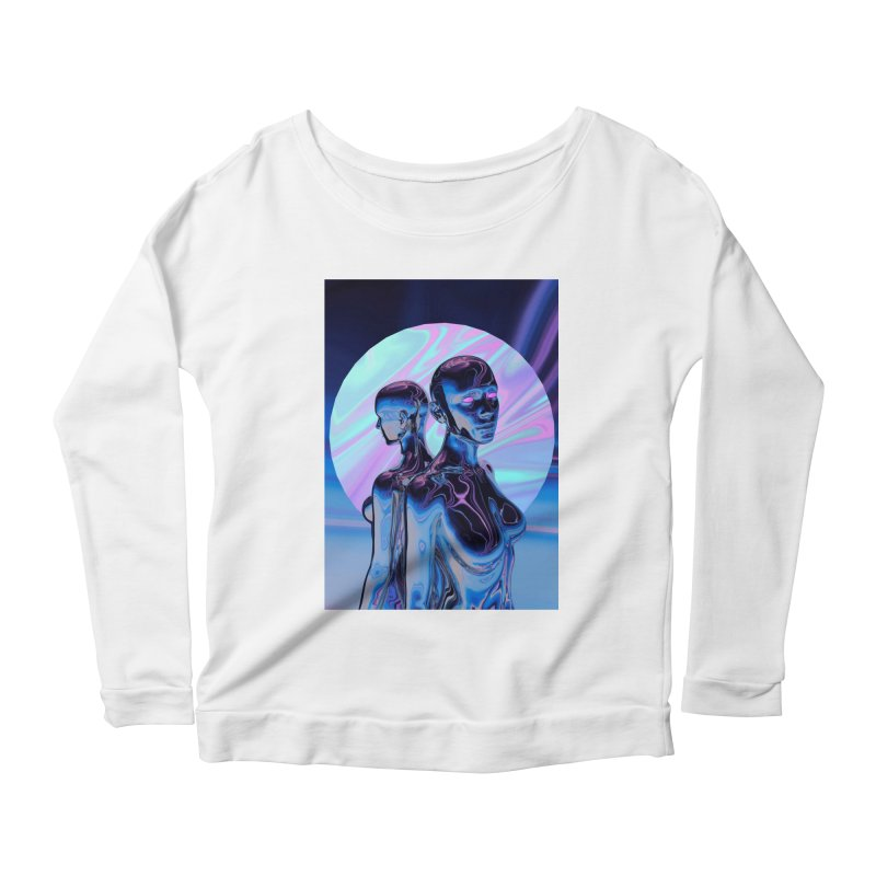 ANGELS 9/8/18 Women's Scoop Neck Longsleeve T-Shirt by Mountain View Co