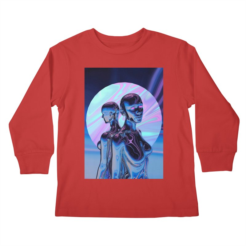ANGELS 9/8/18 Kids Longsleeve T-Shirt by Mountain View Co