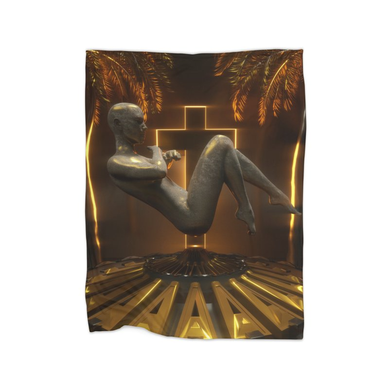 DIVINITY Home Fleece Blanket Blanket by Mountain View Co
