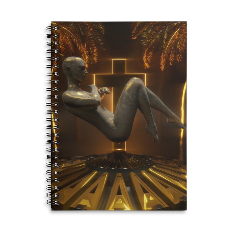 DIVINITY Accessories Lined Spiral Notebook by Mountain View Co