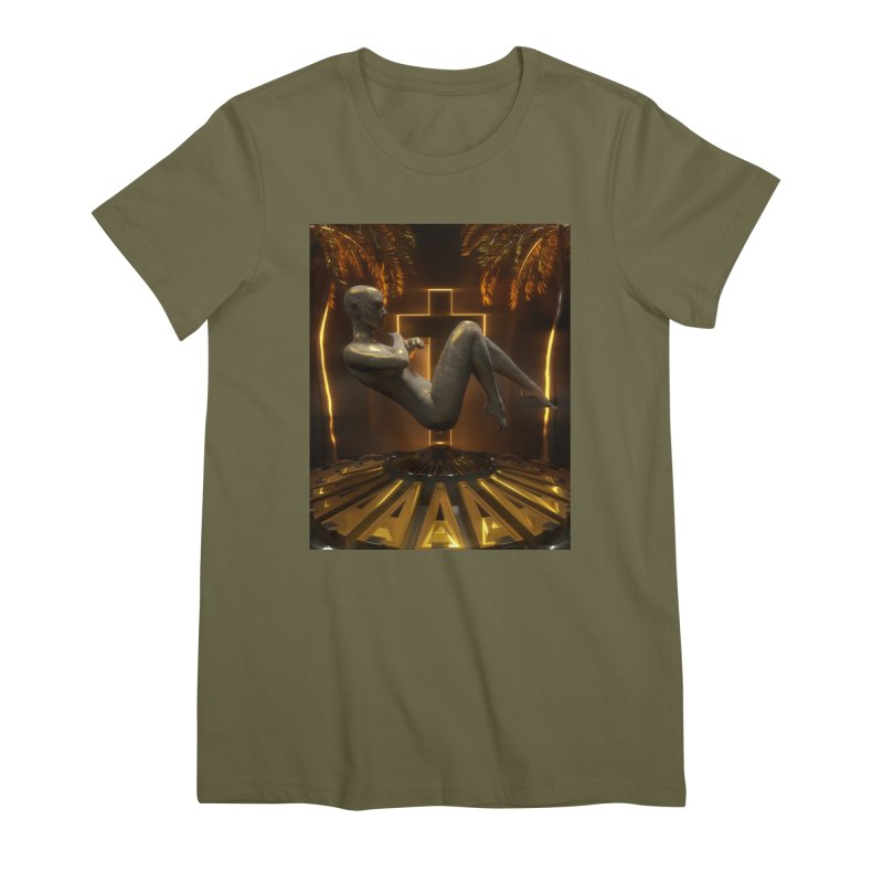 DIVINITY Women's Premium T-Shirt by Mountain View Co