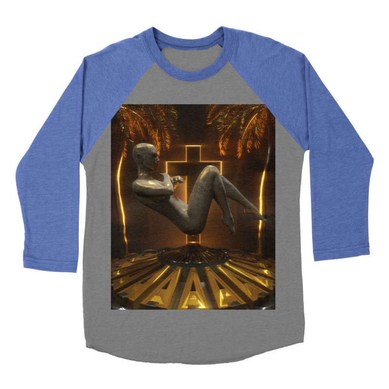 DIVINITY Men's Baseball Triblend Longsleeve T-Shirt by Mountain View Co