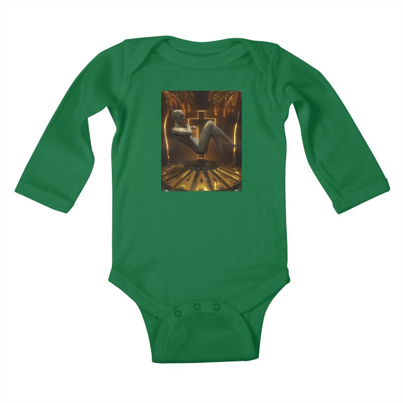 DIVINITY Kids Baby Longsleeve Bodysuit by Mountain View Co
