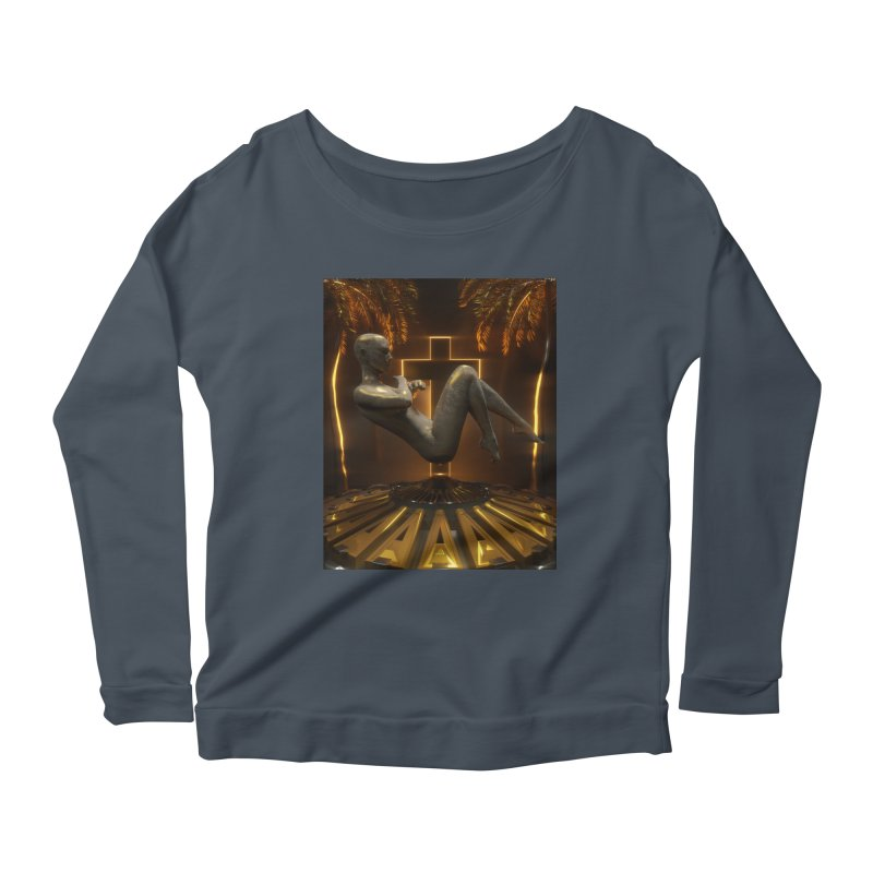 DIVINITY Women's Scoop Neck Longsleeve T-Shirt by Mountain View Co