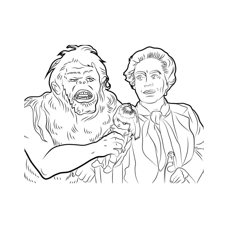Trog and Joan by Moviejawn's Artist Shop