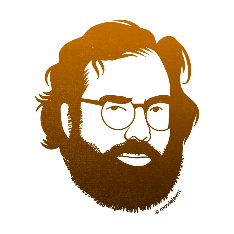 Coppola in Gold by Moviejawn's Artist Shop