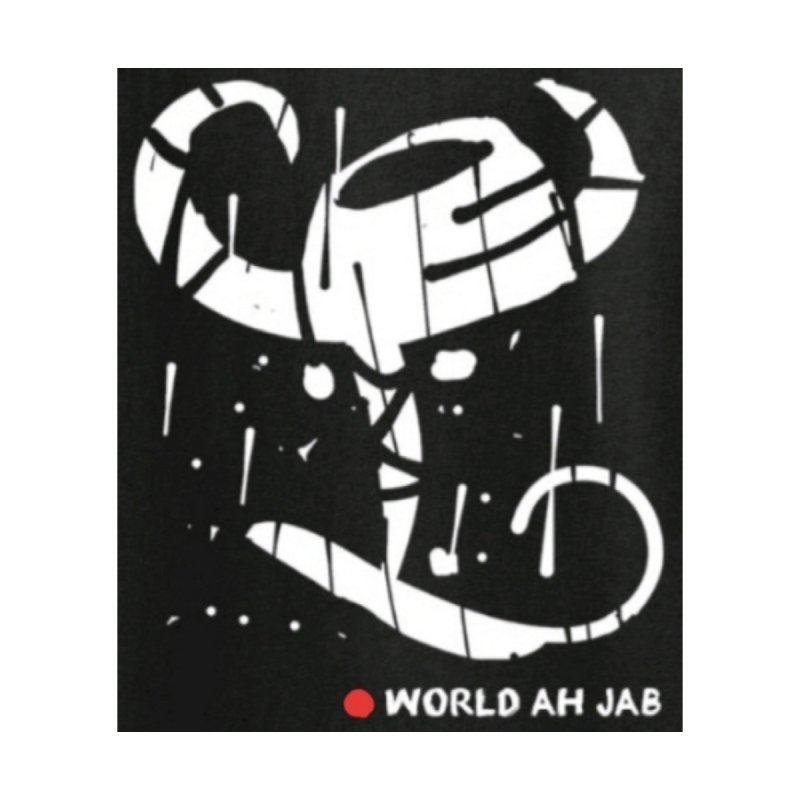 'WORLD AH JAB' Men's Pullover Hoody by Mozayic's Artist Shop