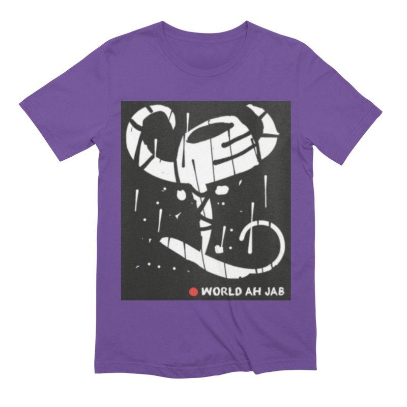 'WORLD AH JAB' Men's Extra Soft T-Shirt by Mozayic's Artist Shop