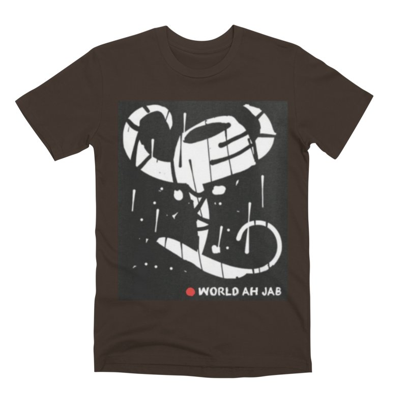 'WORLD AH JAB' Men's Premium T-Shirt by Mozayic's Artist Shop