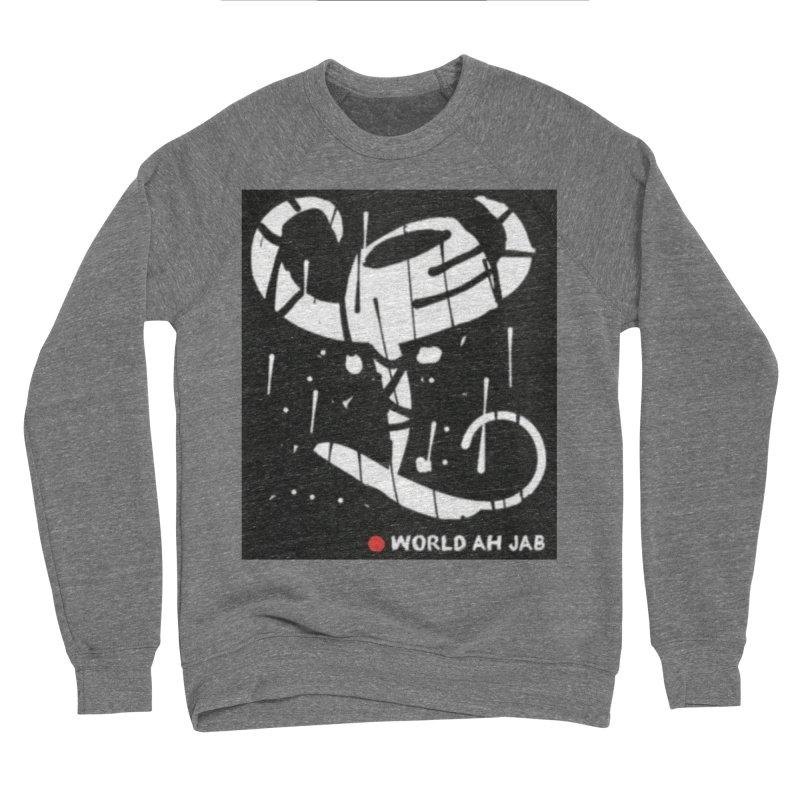 'WORLD AH JAB' Men's Sponge Fleece Sweatshirt by Mozayic's Artist Shop