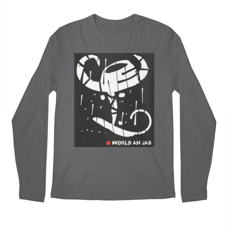 'WORLD AH JAB' Men's Longsleeve T-Shirt by Mozayic's Artist Shop