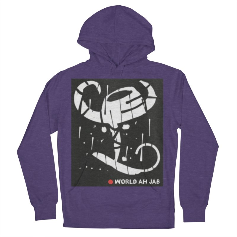 'WORLD AH JAB' Women's French Terry Pullover Hoody by Mozayic's Artist Shop