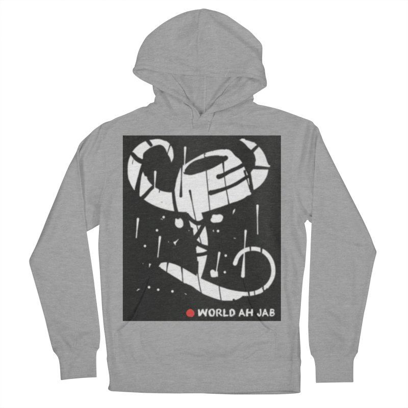 'WORLD AH JAB' Men's French Terry Pullover Hoody by Mozayic's Artist Shop