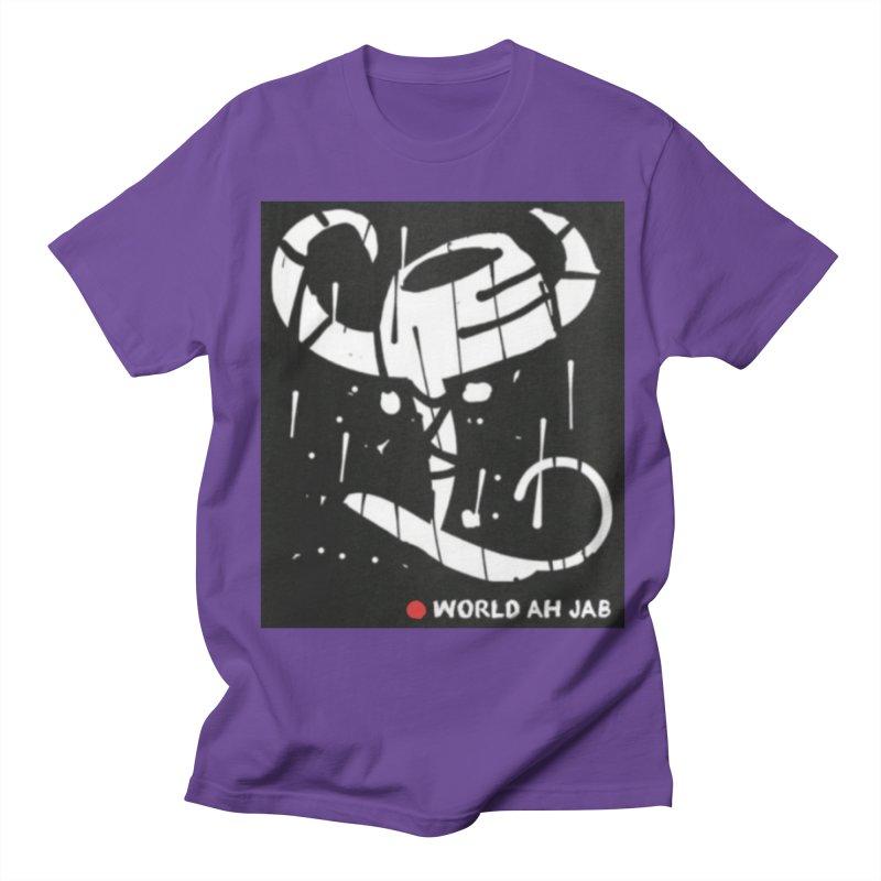 'WORLD AH JAB' Men's Regular T-Shirt by Mozayic's Artist Shop