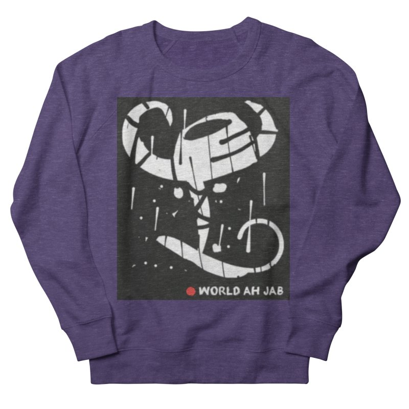 'WORLD AH JAB' Women's French Terry Sweatshirt by Mozayic's Artist Shop