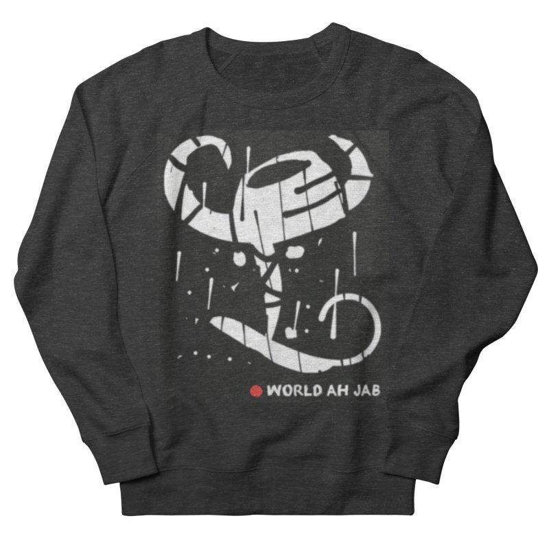 'WORLD AH JAB' Men's French Terry Sweatshirt by Mozayic's Artist Shop