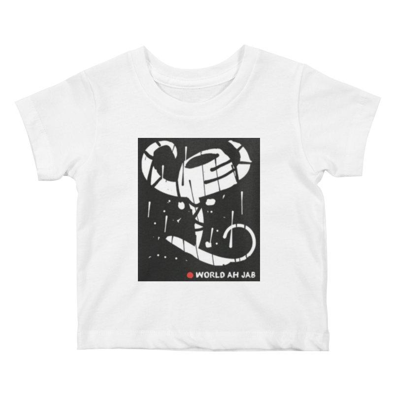 'WORLD AH JAB' Kids Baby T-Shirt by Mozayic's Artist Shop