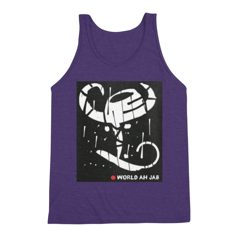 'WORLD AH JAB' Men's Tank by Mozayic's Artist Shop