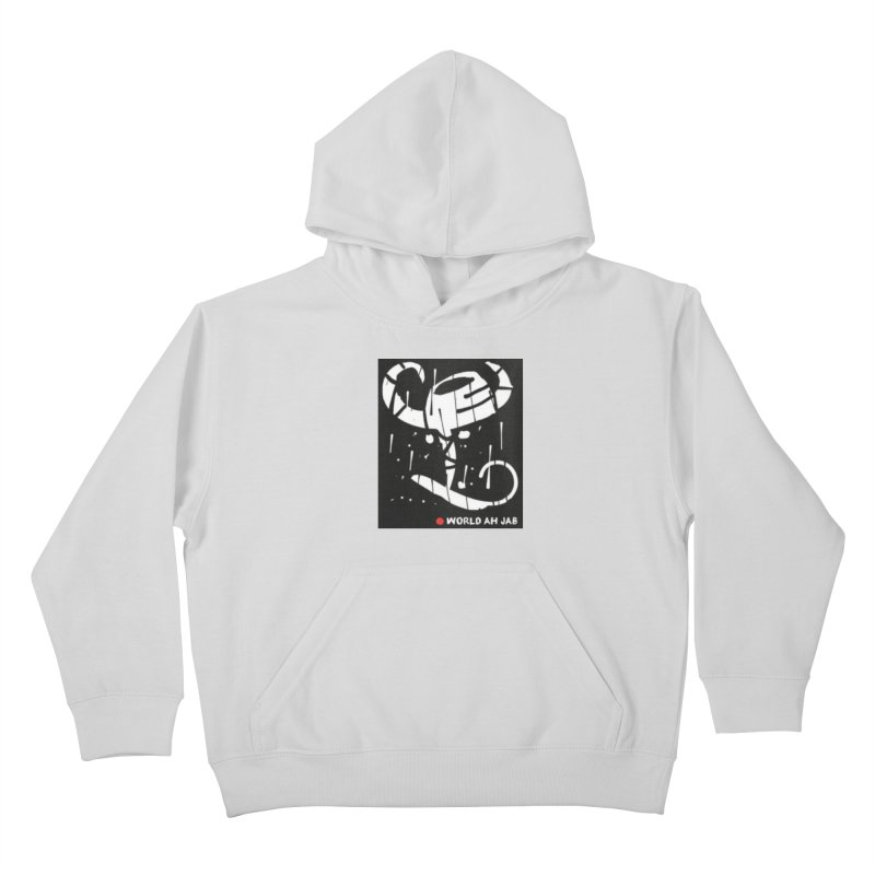 'WORLD AH JAB' Kids Pullover Hoody by Mozayic's Artist Shop