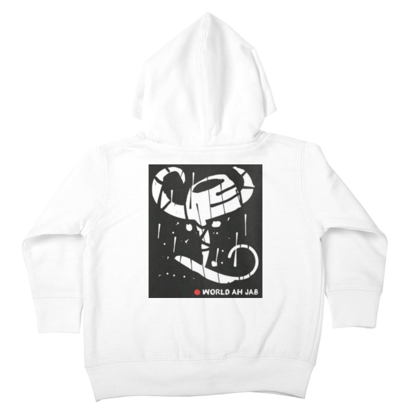 'WORLD AH JAB' Kids Toddler Zip-Up Hoody by Mozayic's Artist Shop
