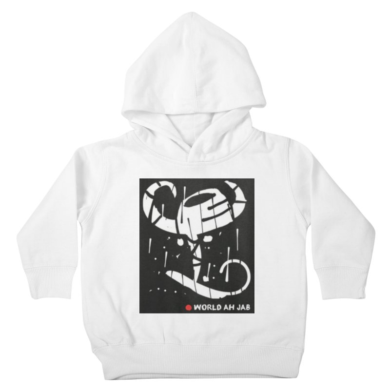'WORLD AH JAB' Kids Toddler Pullover Hoody by Mozayic's Artist Shop