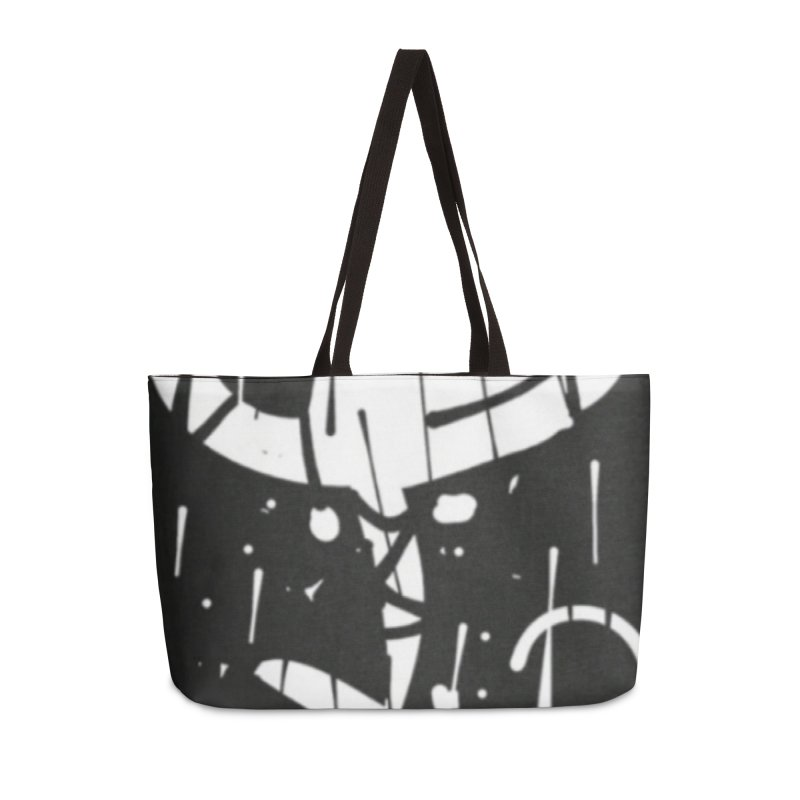 'WORLD AH JAB' Accessories Weekender Bag Bag by Mozayic's Artist Shop