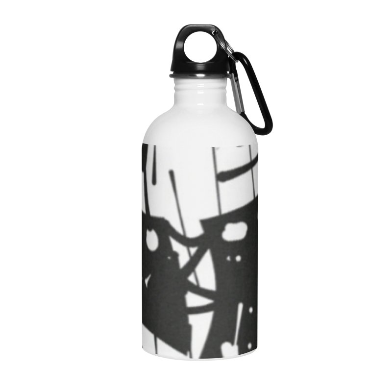 'WORLD AH JAB' Accessories Water Bottle by Mozayic's Artist Shop