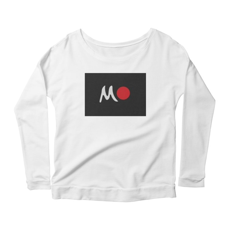 Mozayic Women's Scoop Neck Longsleeve T-Shirt by Mozayic's Artist Shop