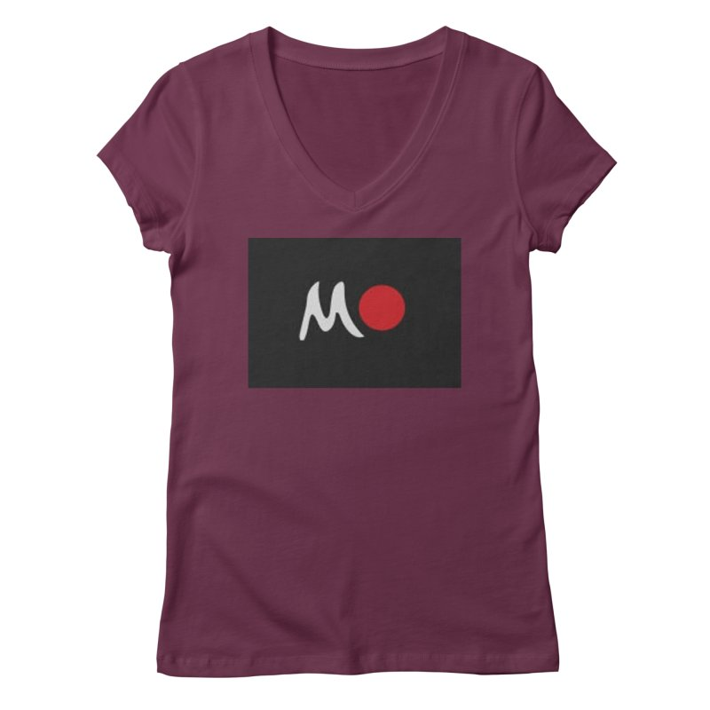 Mozayic Women's Regular V-Neck by Mozayic's Artist Shop