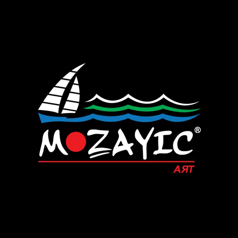 Mozayic sport Men's V-Neck by Mozayic's Artist Shop