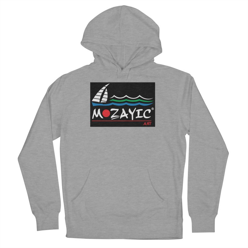 Mozayic sport Women's French Terry Pullover Hoody by Mozayic's Artist Shop