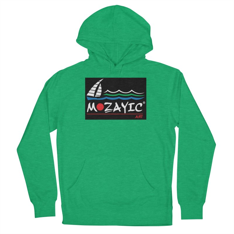 Mozayic sport Men's French Terry Pullover Hoody by Mozayic's Artist Shop