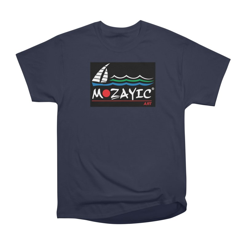Mozayic sport Men's Heavyweight T-Shirt by Mozayic's Artist Shop