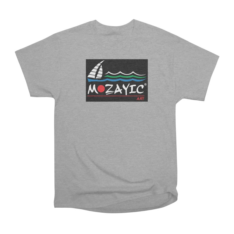 Mozayic sport Men's Heavyweight T-Shirt by Mozayic's Artist Shop