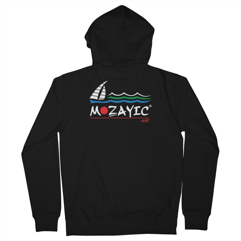 Mozayic sport Women's French Terry Zip-Up Hoody by Mozayic's Artist Shop